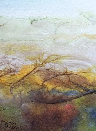 painting of barn (C)