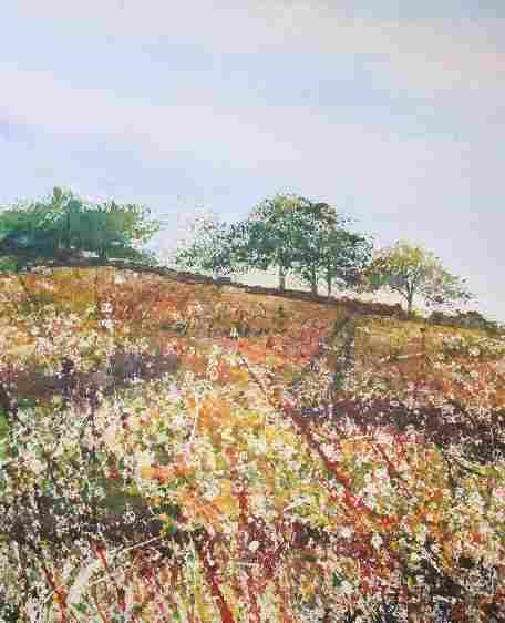 painting of ridgeway wiltshire (C)