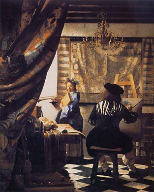 Jan Vermeer, art of painting