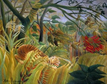 surprised by rousseau